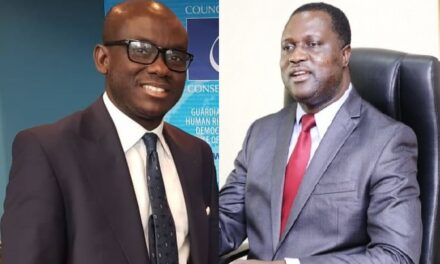 Akufo-Addo elevates Dame, Adutwum as substantive ministers