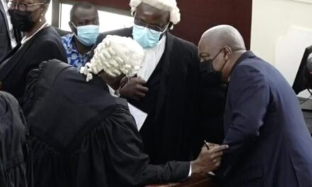 Mahama files motion to review ruling on interrogatories application