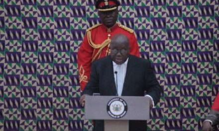 Akufo-Addo to deliver final State of the Nation Address on Jan 5